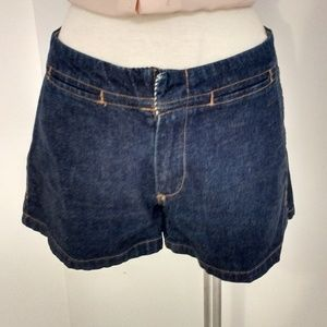 Tommy Hilfiger Dark Blue Denim Wash Shorts